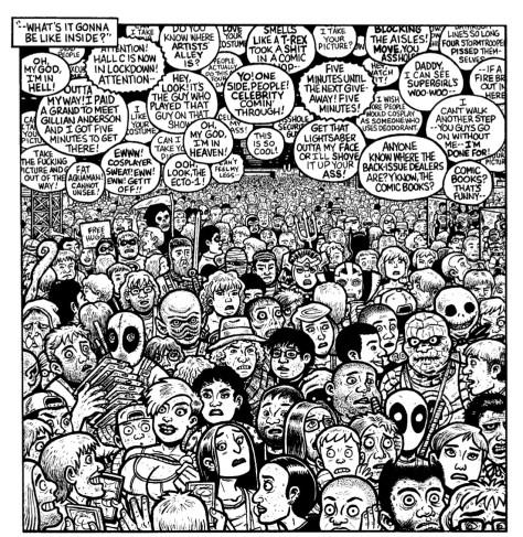 From Eltingville Club #3 by Evan Dorkin