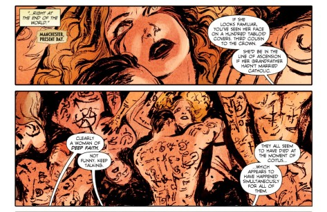 From Constantine The Hellblazer #3 by Vanessa Del Ray & Lee Louthridge