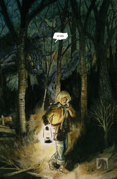 From Harrow County #4 by Tyler Crook