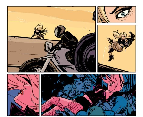 From Black Canary #3 by Annie Wu & Lee Loughridge
