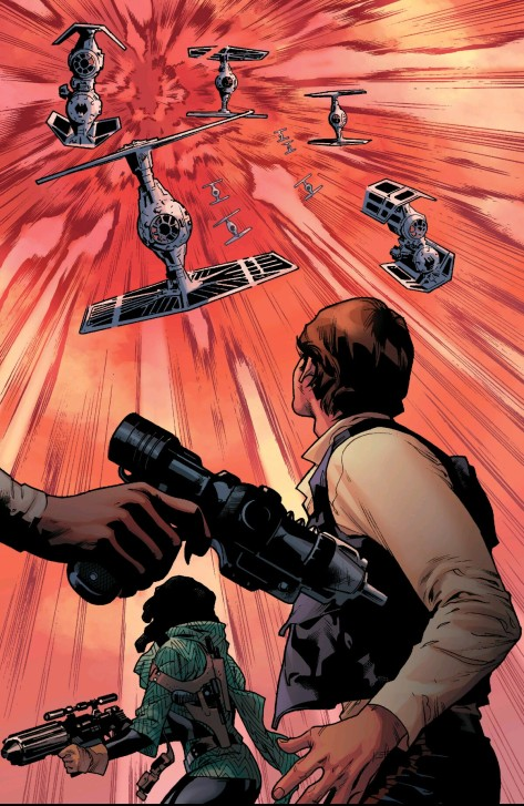 From Star Wars #8 by Stuart Immonem & Justin Ponsor