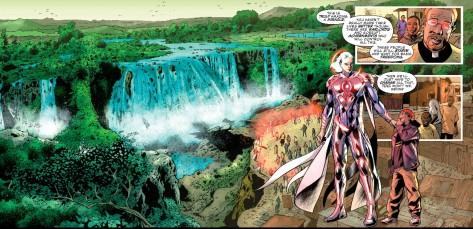 From JLA #3 by Bryan Hitch & Alex Sinclair