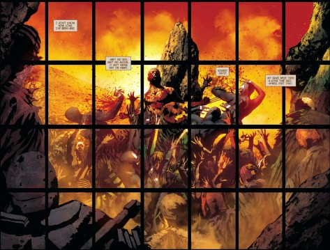 From Old Man Logan #3 by Andrea Sorrentino & Marcelo Maiolo