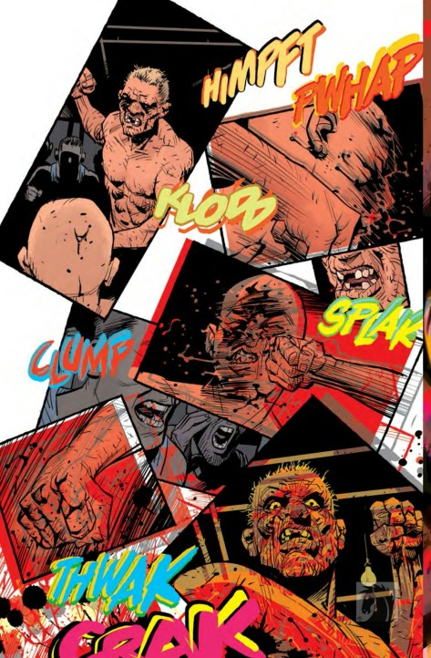 From Fight Club 2 #4 by Cameron Stewart # Dave Stewart