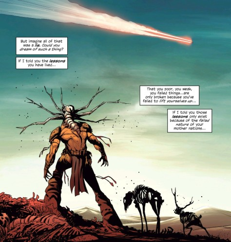 From East Of West #20 by Nick Dragotta & Frank Martin