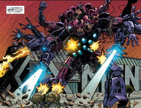 From X-Men 92 #7 by Skott Kolbish & Matt Milla