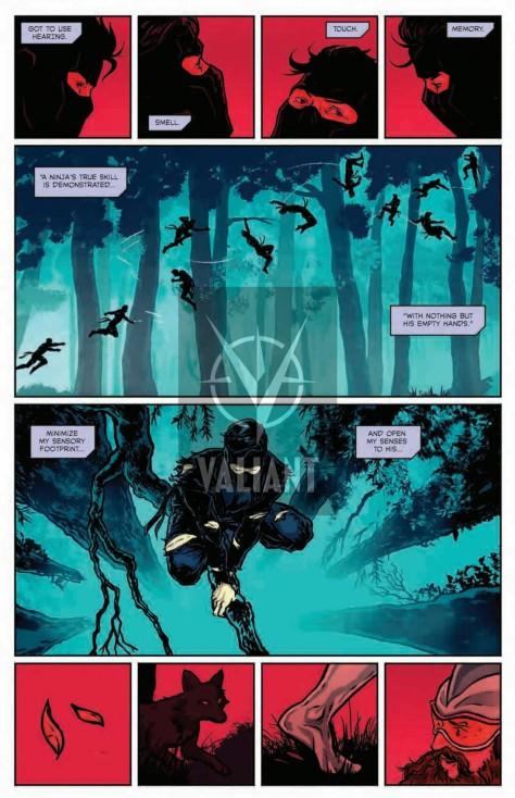 From Ninjak #6 by Raul Allen &