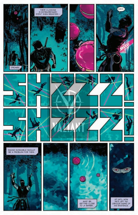 From Ninjak #6 by Raul Allen, Patricia Martin & Borja Pindado