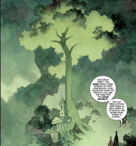 From Hellboy In Hell #7 by Mike Mignola & Dave Stewart