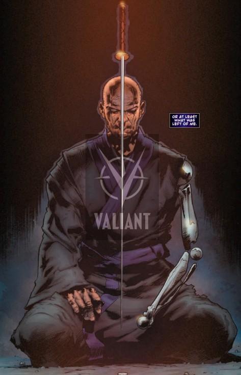 From Book Of Death: The Fall Of Ninjak #1 by Trevor Hairsine & Ryan Winn