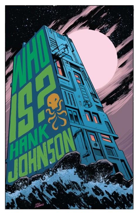 From Hank Johnson Agent Of Hydra #1 by Michael Walsh & Matt Wilson