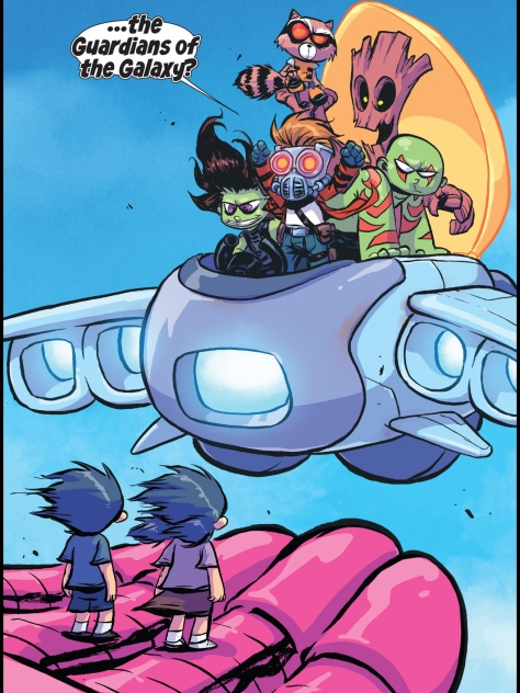 From Giant Size Little Marvel AvsX #3 by Skottie Young