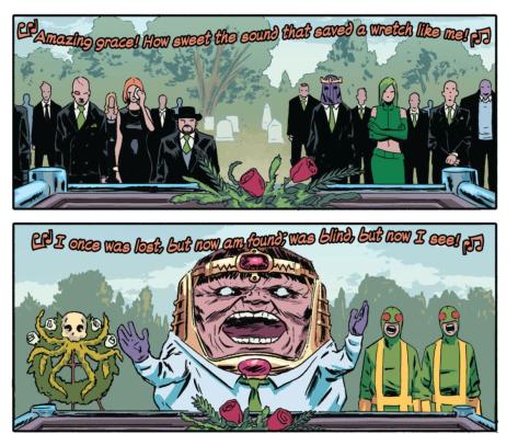 From Hank Johnson: Agent of Hydra #1 by Michael Walsh Matt Wilson
