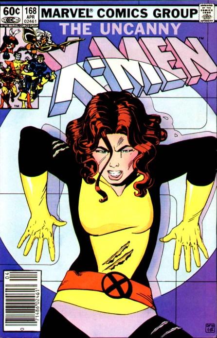 The Uncanny X-Men Cover 168