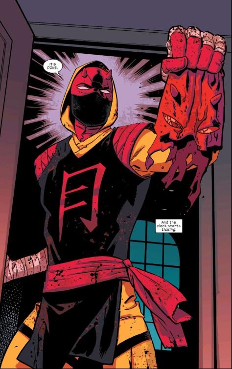 From Daredevil #18 by Chris Samnee & Matt Wilson
