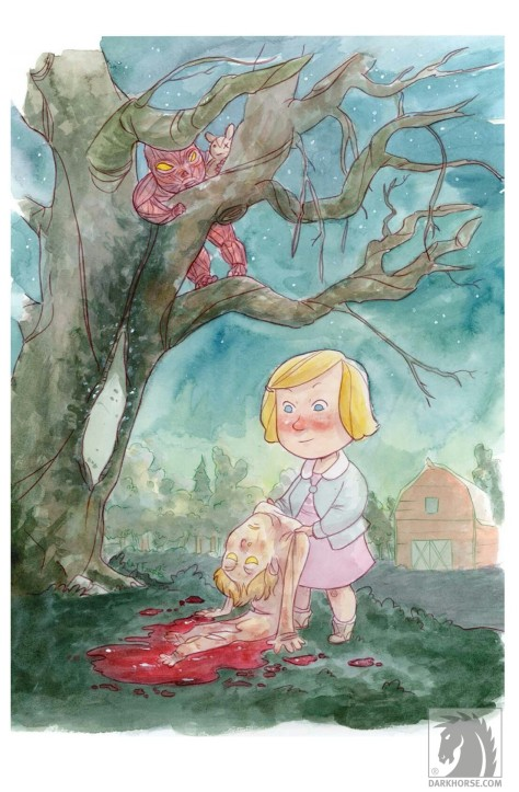 From Harrow County #5 by Tyler Crook