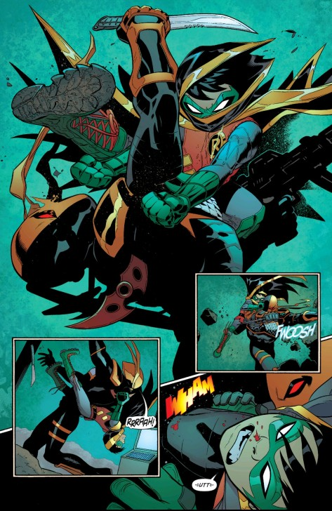 From Robin Son Of Batman #4 by Patrick Gleason &