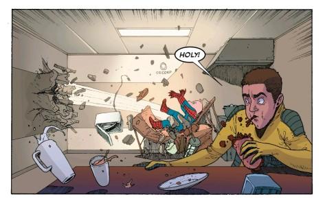 From Spider-Verse #5 by Andre Araujo & Rachel Rosenberg