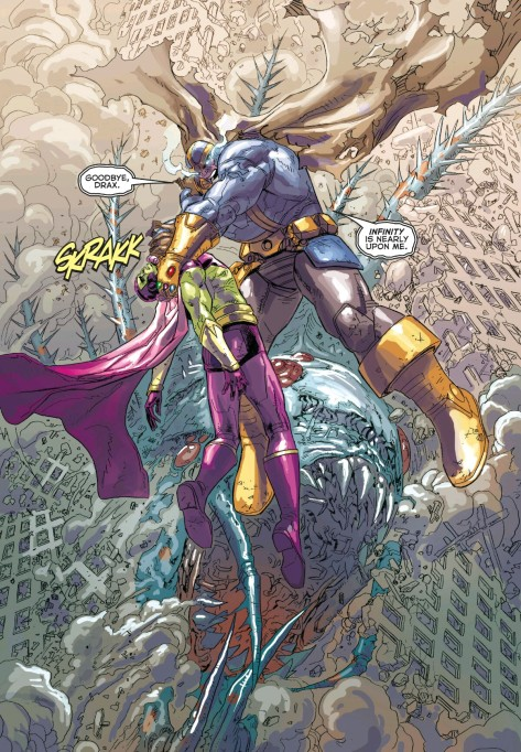 From Infinity Gauntlet #4 by Dustin Weaver & Rain Beredo