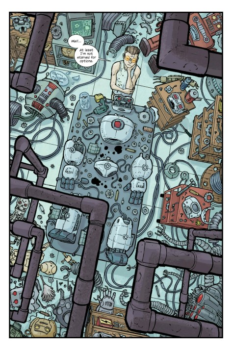 The Manhattan Projects: The Sun Beyond The Stars #5 by Nick Pitarra & Jordie Bellaire
