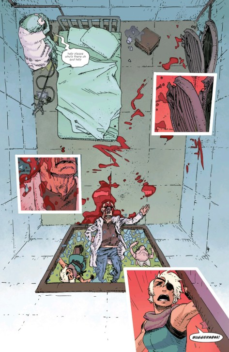 From The Spire #3 by Jeff Stokely & Andre May