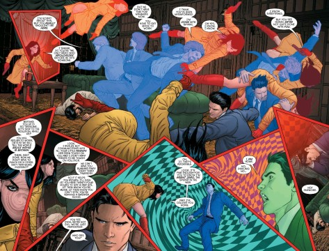 From Grayson #12 by Mikel Janin & Jeremy Cox