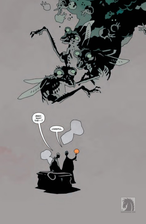 From Hellyboy in Hell #7 by Mike Mignola & Dave Stewart
