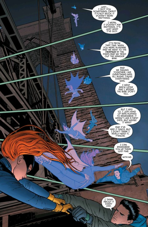 From Grayson #12 by Mikel Janin &