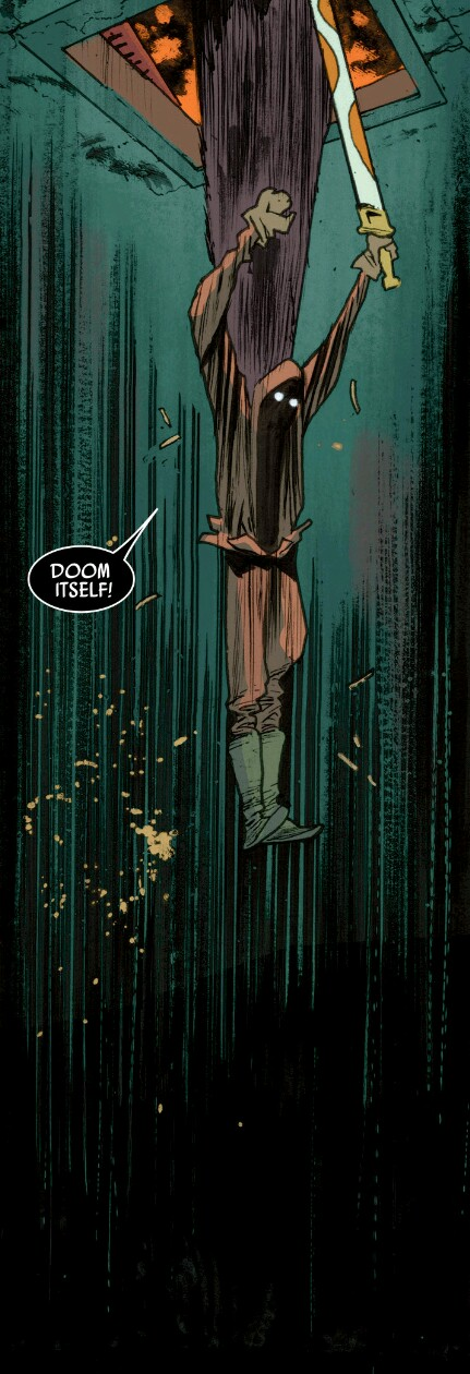 From Rumble #7 by James Harren & Dave Stewart