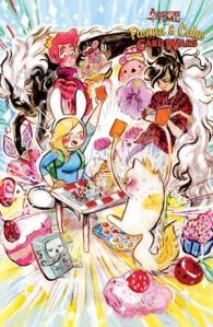 Adventure Time Fiona & Cake Card Wars 3 Daniela Vicoso