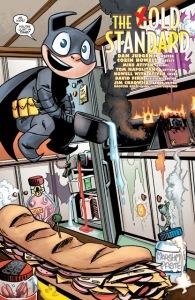 Bat-Mite 4 kitchen fire Corin Howell