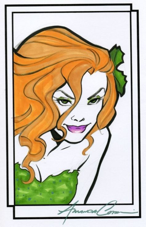 Poison Ivy Amanda Connor