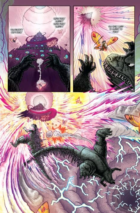 From Godzilla In Hell #3 by Buster Moody & Ludwig Laguna Olmpa