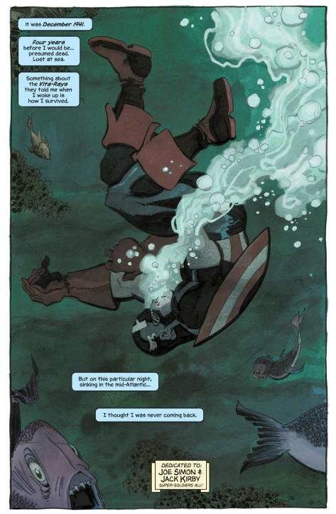 Captain America White #2 by Tim Sale & Dave Stewart
