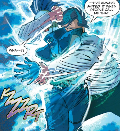 From Superman #44 by John Romita Jr & Dean White