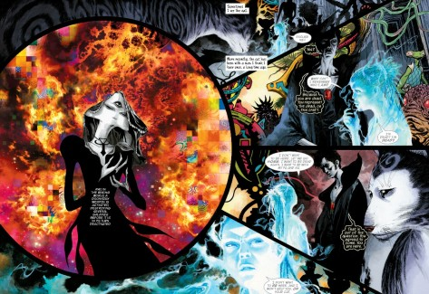 From Sandman Overture #6 by JH Williams III & Dave Stewart
