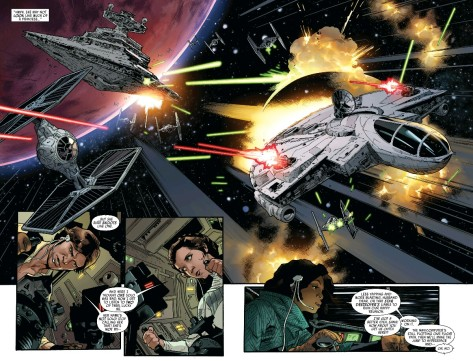 From Star Wars #10 by Stuart Immonen & Justin Posnor