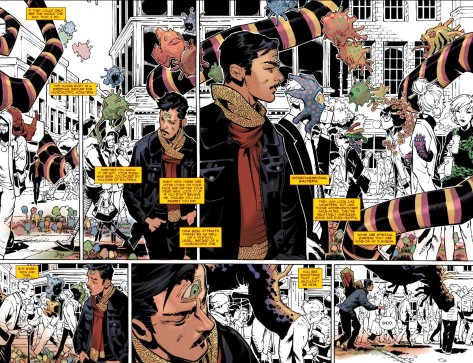 From Doctor Strange #1 by Chris Bachalo