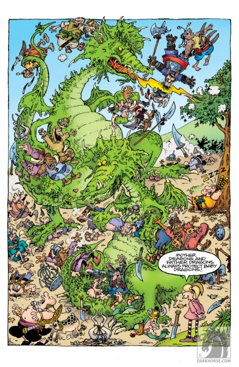 From Groo  Friends & Foes #10 by Sergio Aragones & Tom Luth