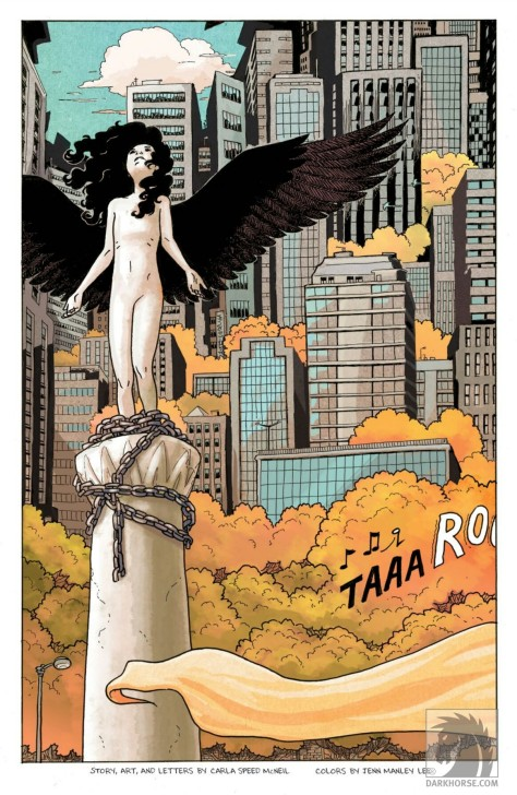 From Dark Horse Presents #15 by Carla Speed McNeil