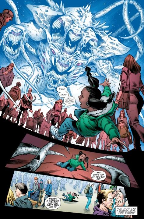 From Martian Manhunter #5 by Eddy Barrows, Diogenes Neves & Gabe Eltab
