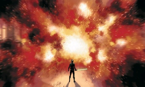 From Star Wars Shattered Empire #4 by Marco Checchetto & Andres Moss