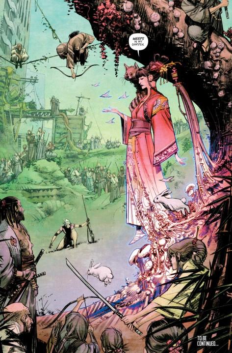 From Tokyo Ghosts #2 by Sean Murphy & Matt Hollingsworth
