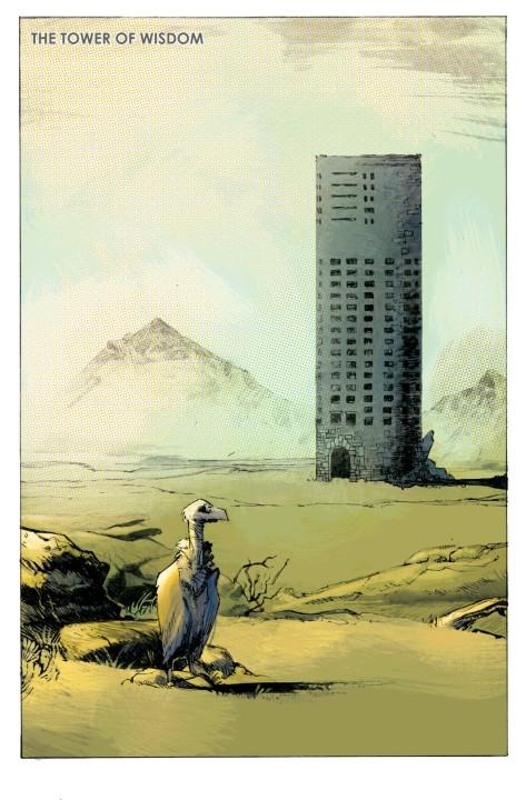 From Karnak #1 by Geraldo Zaffino & Dan Brown