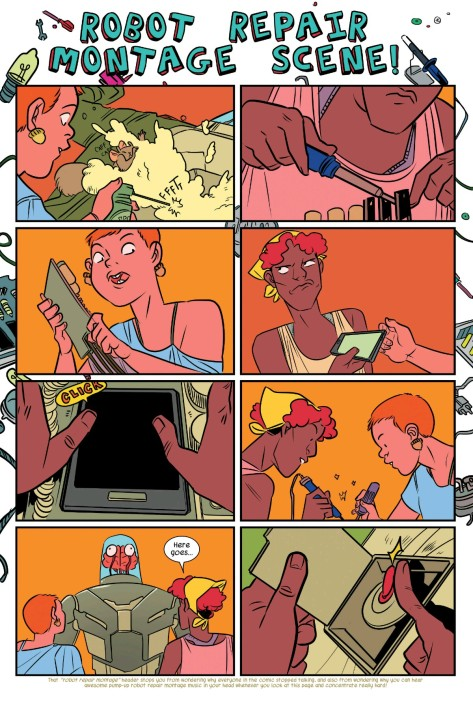 From The Unbeatable Squirrel Girl #1 by Erica Henderson & Rico Renzi