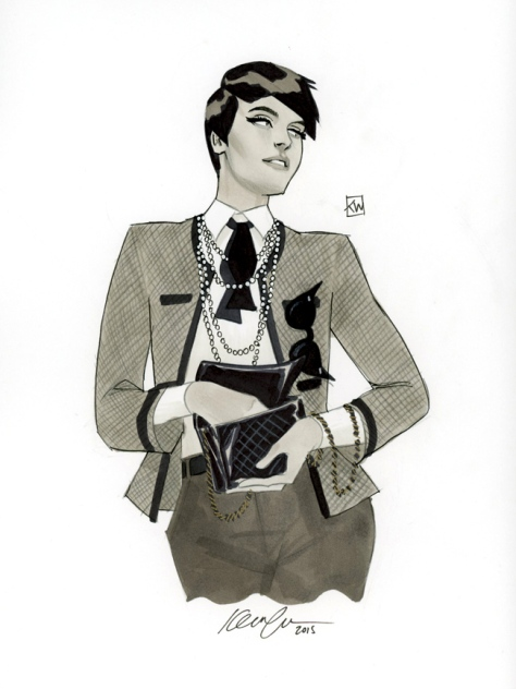 Catwoman Chanel Kevin Wada