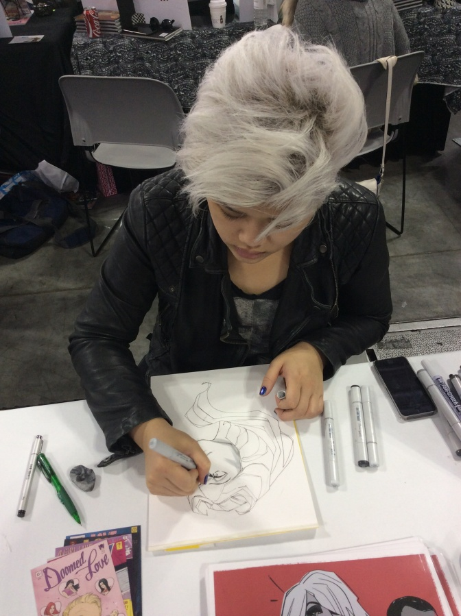 NYCC: Annie Wu in Artists Alley