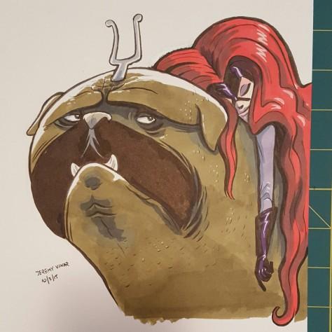 Lockjaw and Medusa Jeremy Vinar