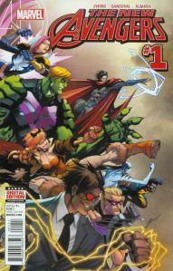 New Avengers 1 Gerardo Sandoval