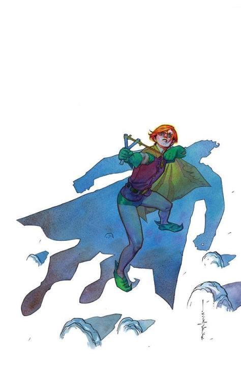 Robin V. Superman Brian Stelfreeze